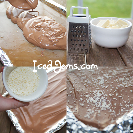 Chocolate Shortbread Topping