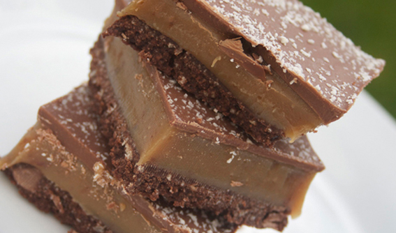 Double Chocolate Millionaires Shortbread