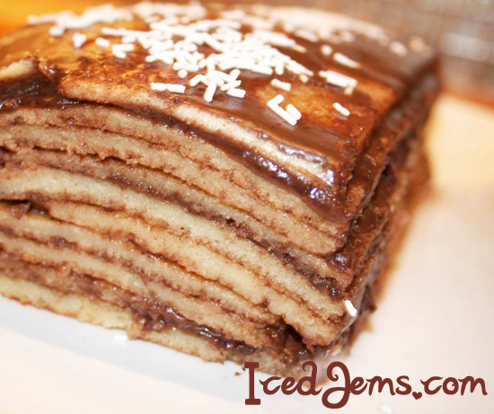 10 Layer Pancake Cake