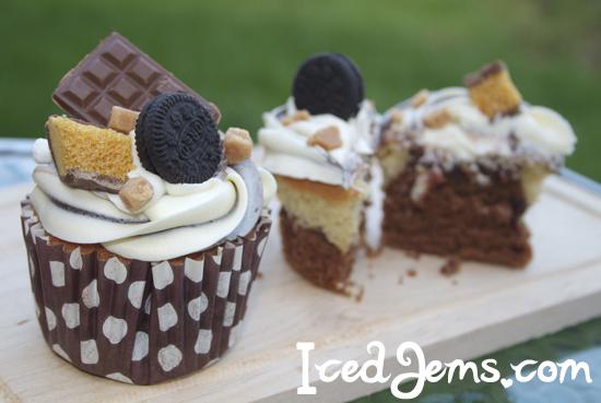 Chocolate Explosion Cupcakes