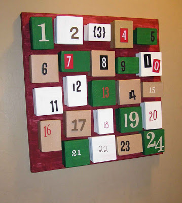 Favour Box Advent Calendar