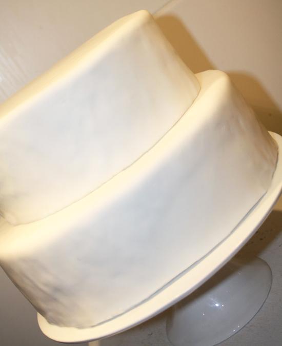 Plain Iced Cake