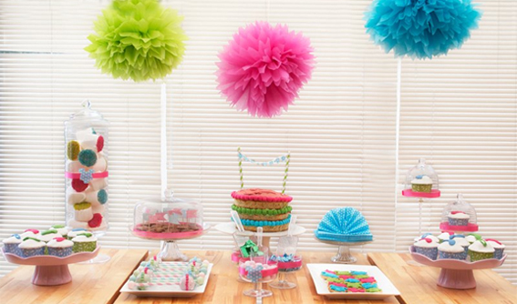 Neon Brights Baby Shower