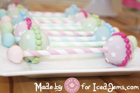 Baby Rattle Cake Pop Recipe