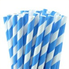 BlueStripeStraws