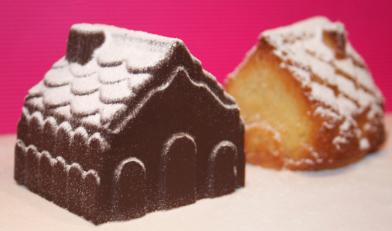 Christmas Village Cakes