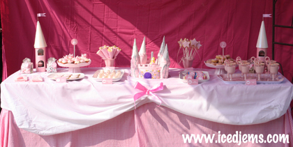 Princess Dessert Table
