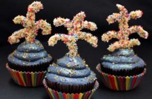 Firework Cupcakes 300x196