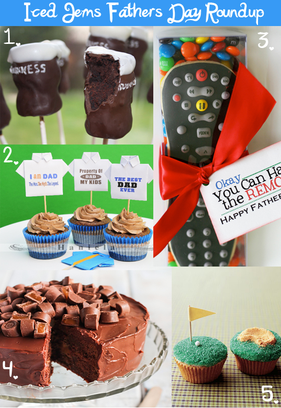 Fathers Day Baking Ideas