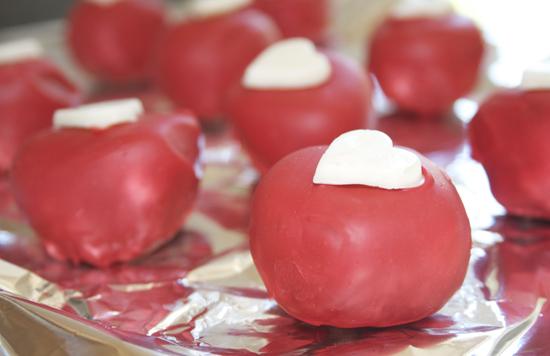 Summer Berry Cake Balls