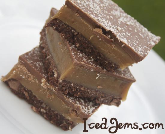 Chocolate Millionaires Shortbread