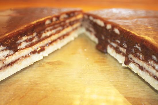Stacked Pancake Cake