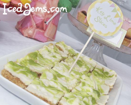 Key Lime Slices