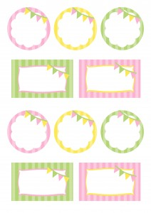 Bunting Party Printables