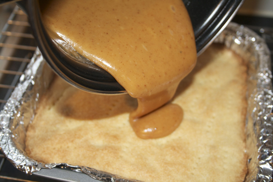 Pouring Caramel
