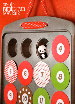 Cake Tin Advent Calendar