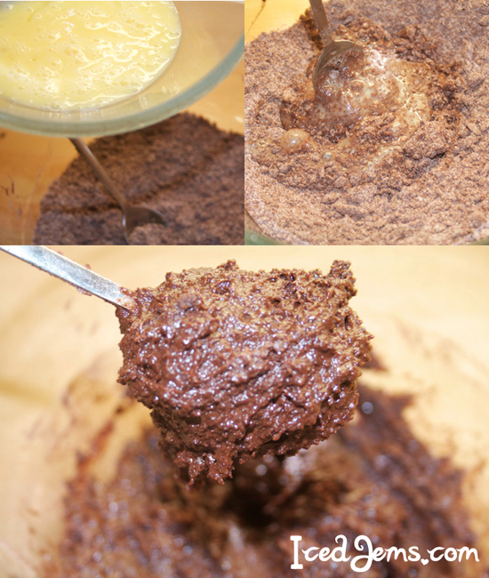 Chocolate Crackle Cookie Dough