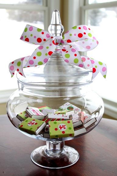 Christmas Advent Jar