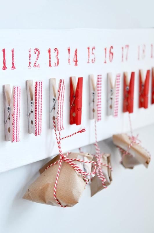 Peg Advent Calendar