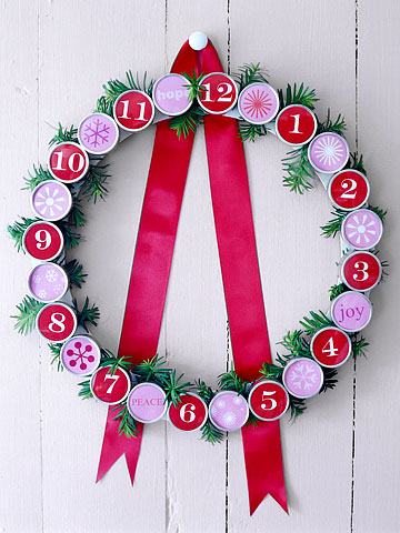 Wreath Advent Calendar