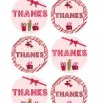 Christmas Printable Favour Tags