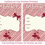 Free Christmas Printable Invites