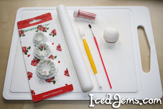 How to make Icing Carnations