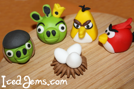 Angry Birds Cake Recipe