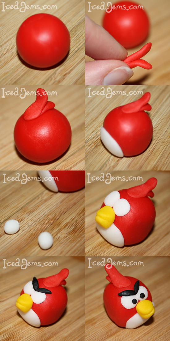 Red Angry Bird Tutorial