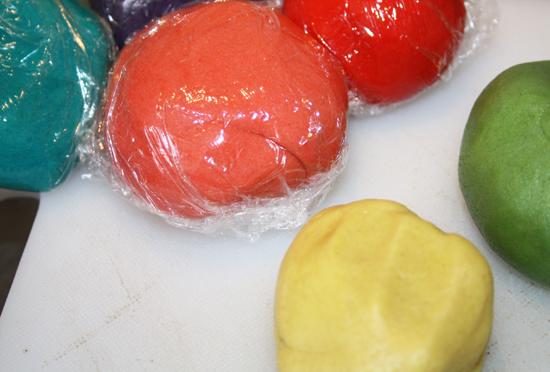 Coloured Cookie Dough