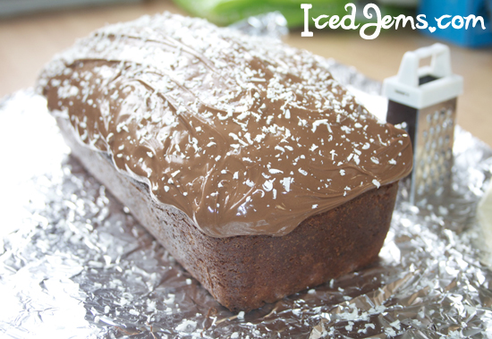 Chocolate Covered Banana Loaf