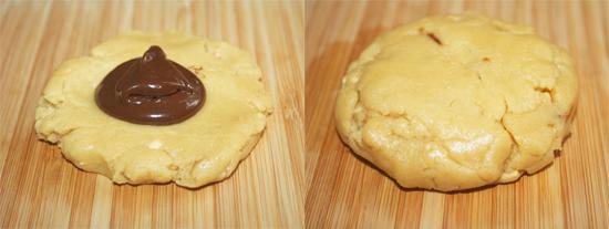 Truffle Stuffed Cookies