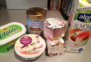 Dairy Free Ingredients