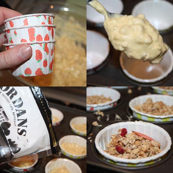 Granola Muffins Recipe