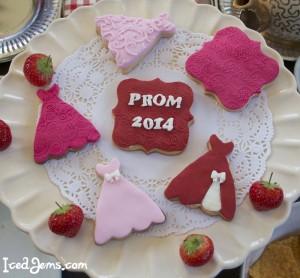 Prom Cookies