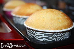 how to make domed cupcakes