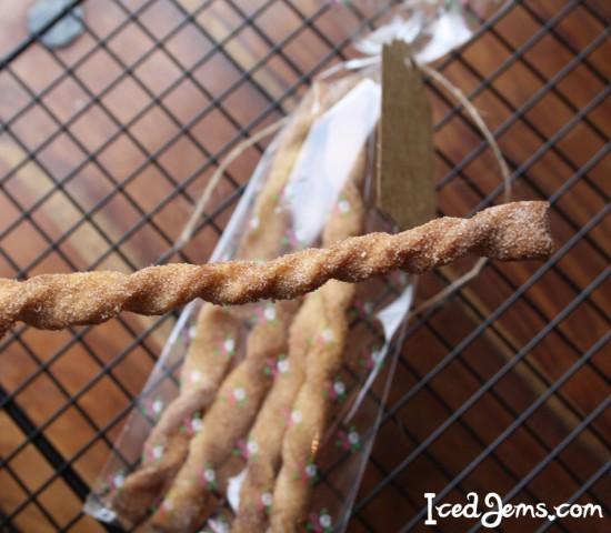 Cinnamon Sugar Cookie Twists