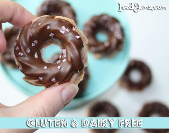 Dairy Gluten Free Raspberry Swirl Cakes