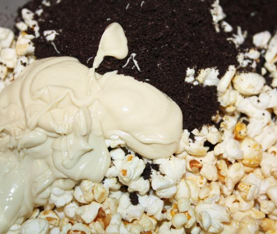 Oreo Popcorn Ingredients