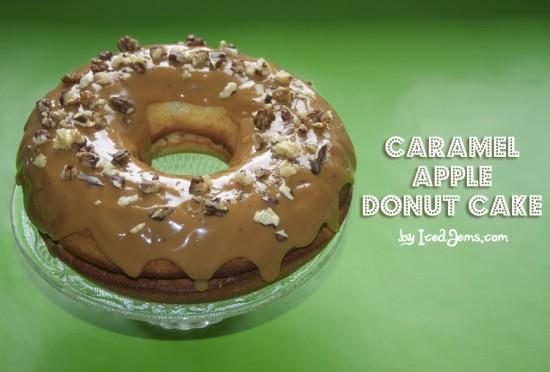 Caramel Apple Donut Cake
