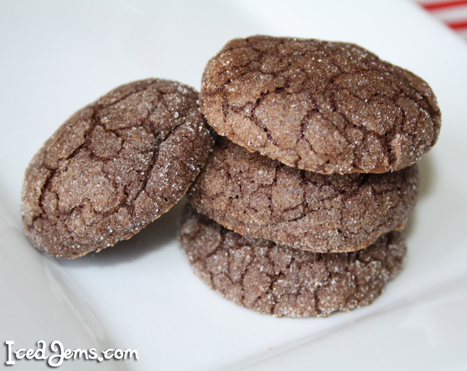 Chewy Coffee Cookies