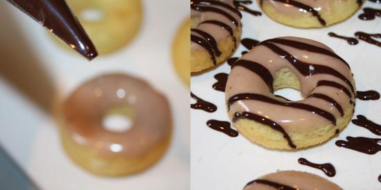 Chocolate Caramel Donuts