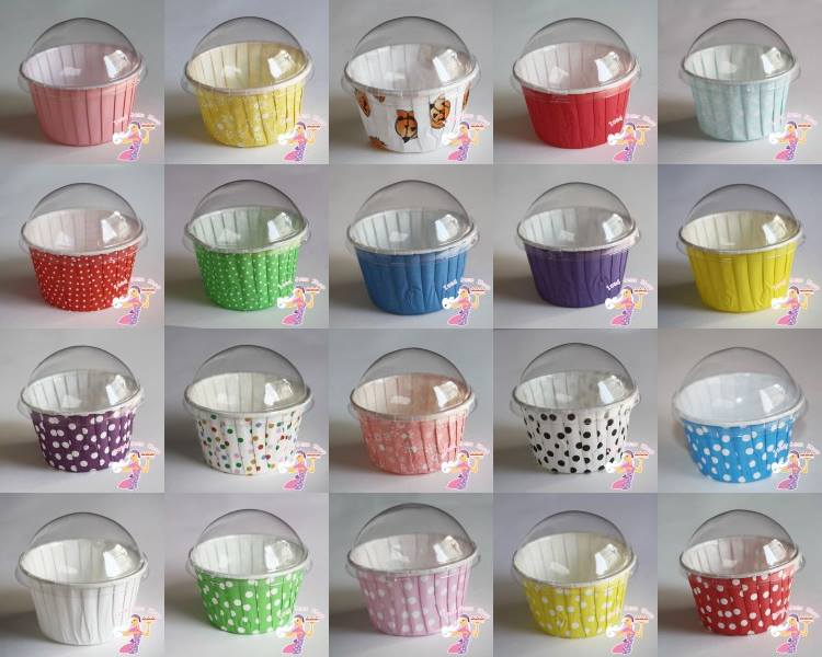 Baking Cups with lids