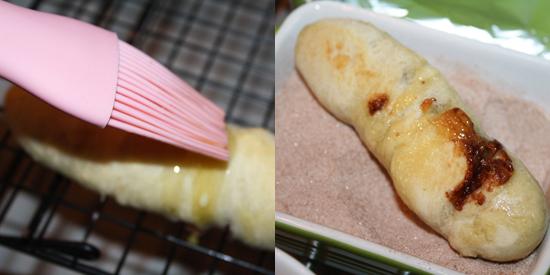 Cinnamon Pretzel Twixes