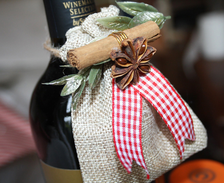 Mulled Wine Spice Gift Bags | Iced Jems