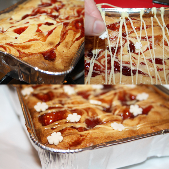 Strawberry Blondies