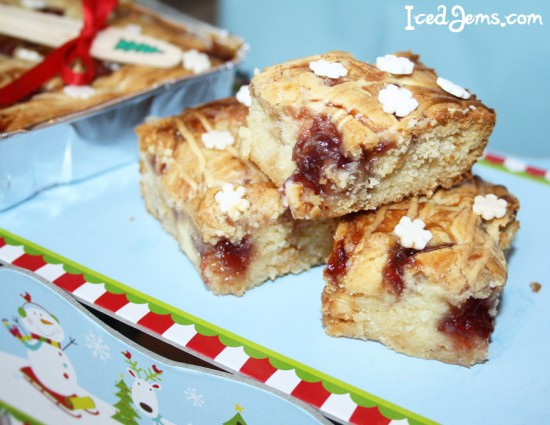 Strawberry Swirl Blondies