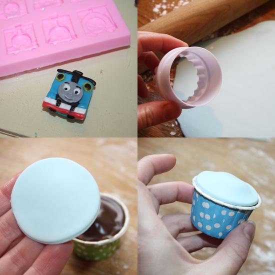Thomas Tank Cupcakes
