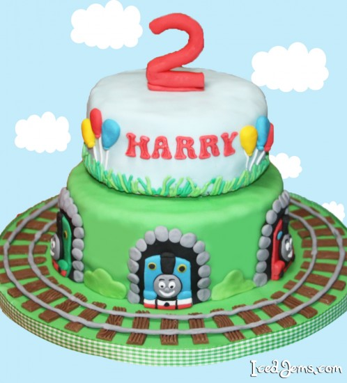 Pleasant Thomas The Tank Engine Cupcakes Iced Jems Personalised Birthday Cards Sponlily Jamesorg