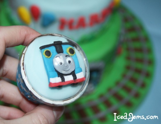 Thomas Tank Engine Cupcakes